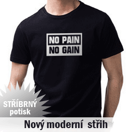 No pain No Gain Tričko