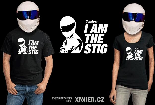 d06c102c07a Tričko s potiskem Stig Top Gear