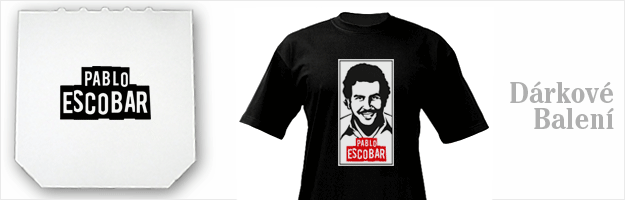 ... tričko s potiskem Pablo Escobar 4a0476555c