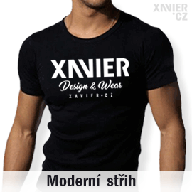 0a18e87a302 Tričko s potiskem Xavier