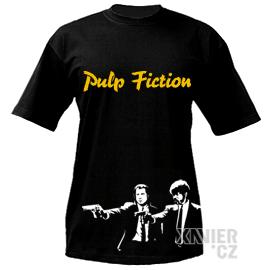 Originální Dárkové Balení trička, tričko Pulp Fiction, Xavier.cz eshop Pulp Fiction, originální trička s potiskem Pulp Fiction, originální dárky pro muže, ženy, k narozeninám a vánocům v originálním dárkovém balení Pulp Fiction, filmy, seriály online