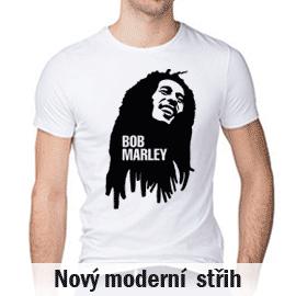 Tričko s potiskem Bob Marley  c2c7bd8b24