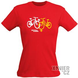 Originální Dárkové Balení trička, tričko Bicycle power, Xavier.cz eshop triček Bicycle power, originální trička s potiskem Bicycle power, originální dárky pro muže, ženy, k narozeninám a vánocům v originálním dárkovém balení Bicycle power