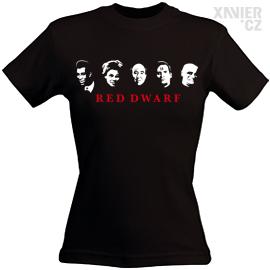 Originální Dárkové Balení trička s potiskem, tričko RED DWARF (ČERVENÝ TRPASLÍK), Xavier.cz eshop triček ČERVENÝ TRPASLÍK, originální dárky pro muže, ženy, k narozeninám a vánocům v originálním dárkovém balení RED DWARF