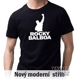 192a3ab1dd1 Tričko s potiskem Rocky Balboa