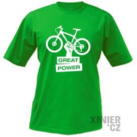 Originální Dárkové Balení trička, tričko Bicycle economy power, Xavier.cz eshop triček Bicycle power, originální trička s potiskem Bicycle power, originální dárky pro muže, ženy, k narozeninám a vánocům v originálním dárkovém balení Bicycle power